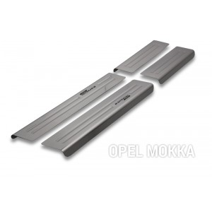 Zaštita pragova za Opel Mokka (X)