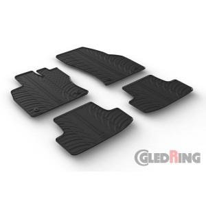 Gumeni tepisi za Volkswagen T-Roc (manual&automatic)