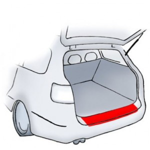 Zaštitna folija za odbojnik Mercedes C-klasa S203 kombi