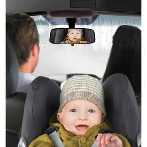 Ogledalo za nadzor djece na stražnjim sjedalima u automobilu