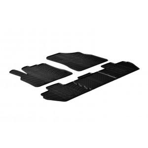 Gumeni tepisi za Peugeot Rifter (Suvozačevo sjedalo preklopljivo)