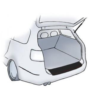 Crne zaštitne naljepnice za branik Dacia Lodgy